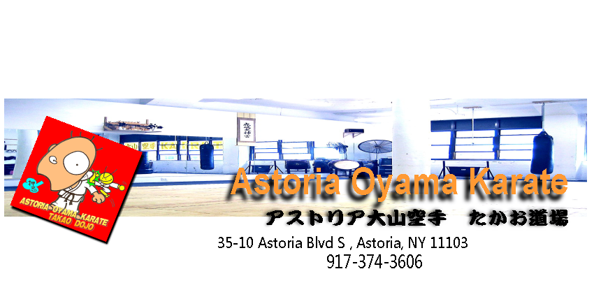 Astoria Oyama Karate offers you a martial arts lifestyle 38-11 31st St #2F Long Island City NY 11101  347-396-0110